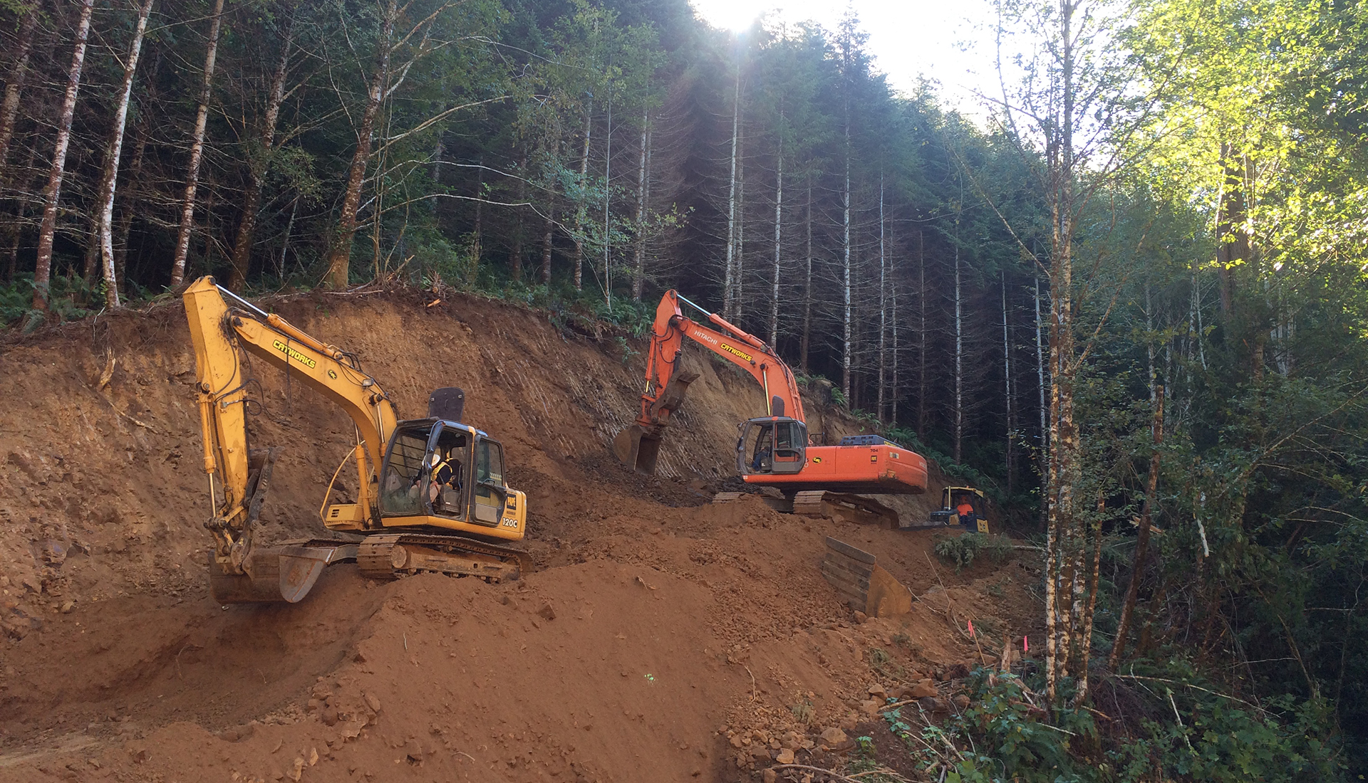Bpa boyer tillamook road catworks construction for Construction bonneville
